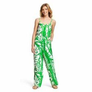 NWT Lilly Pulitzer Target Boom Boom Leaf Jumpsuit